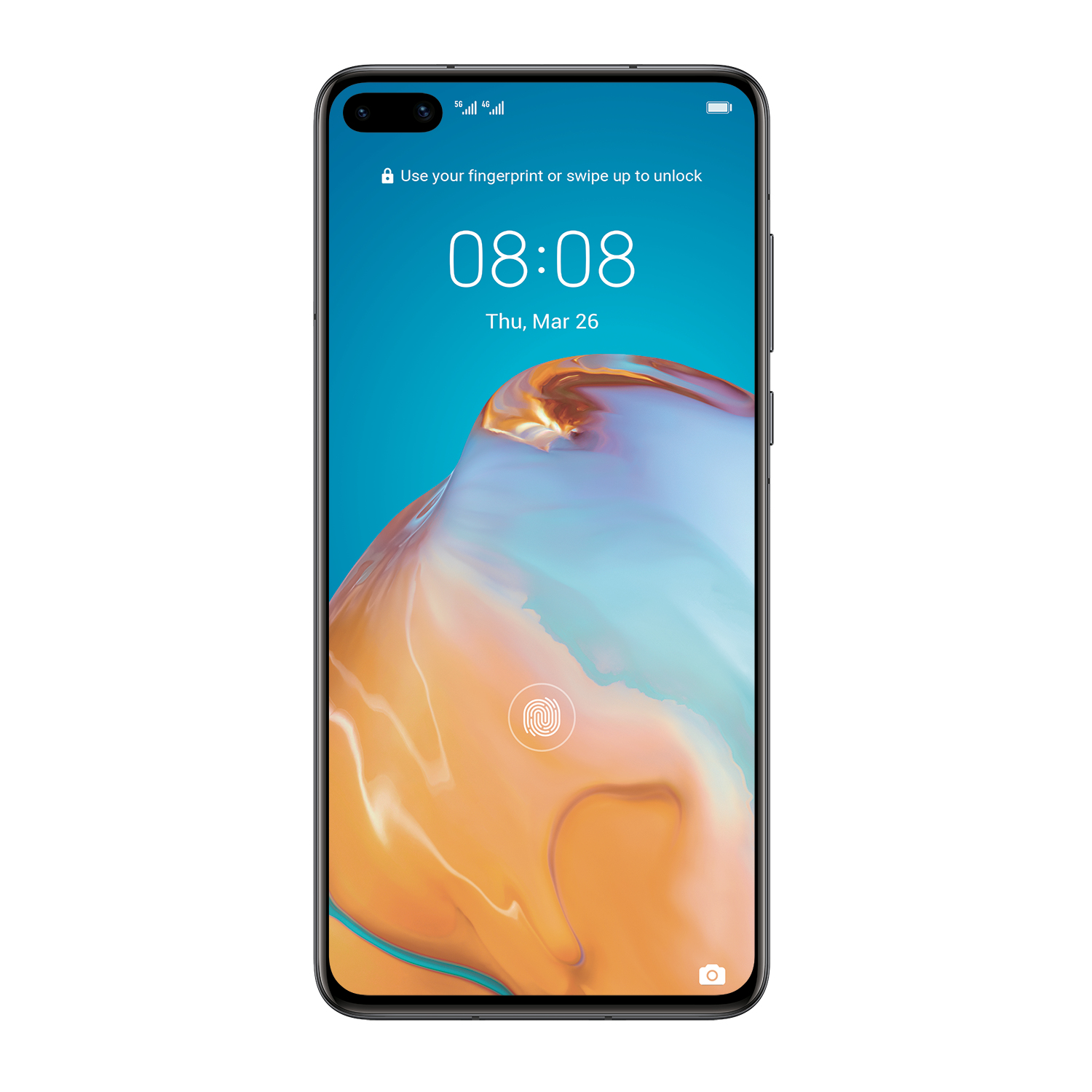 "Huawei P40 Black Display: 6.1"" OLED (2340x1200) - 51095ehn"