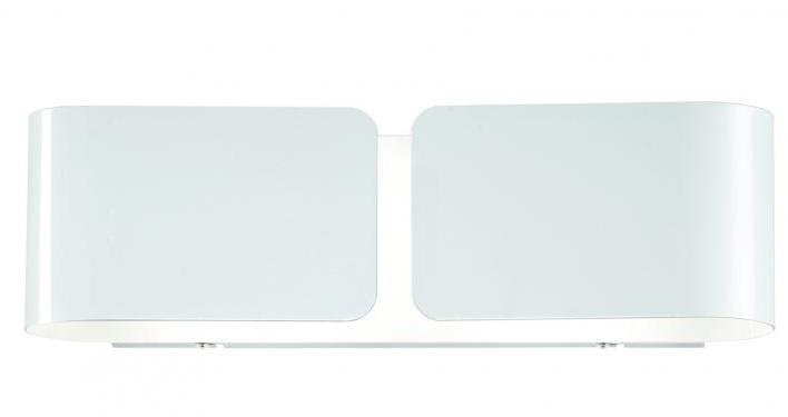 Ideal Lux - Lampada a parete - Clip ap2 bianco - 014166