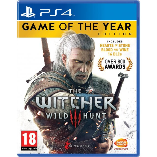 PS4 THE WITCHER 3 : WILD HUNT GOTY The Witcher 3: Wild Hunt - Game of the Year Edition