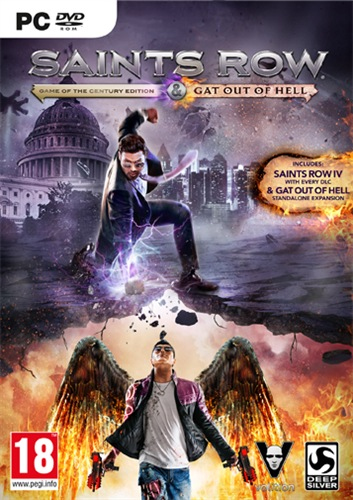 Deep Silver Gioco - Pc Saints Row Iv Re-elected-gat Out Of Hell1007622