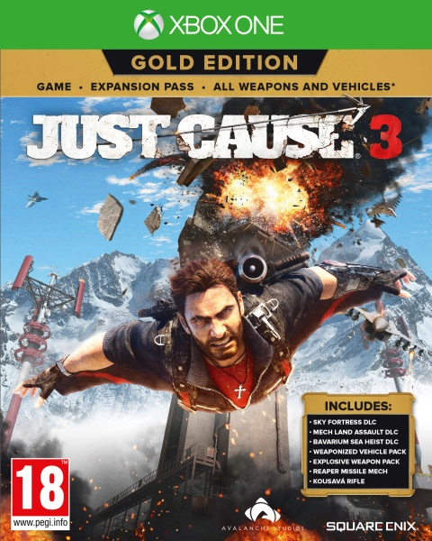 Koch Media Just Cause 3 Gold Edition Just Cause 3 Gold Edition, XBox One, IT - 1020865