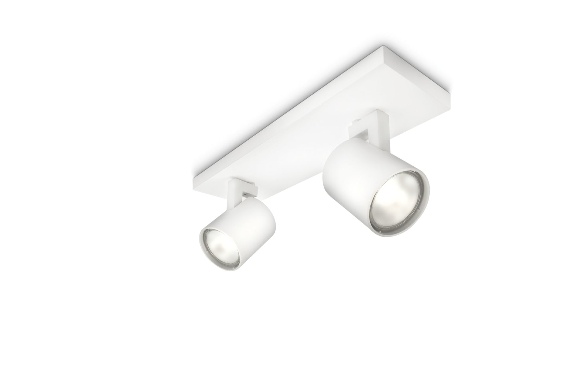 Philips Lighting - Runner 2xGU10 bianco - 530923112