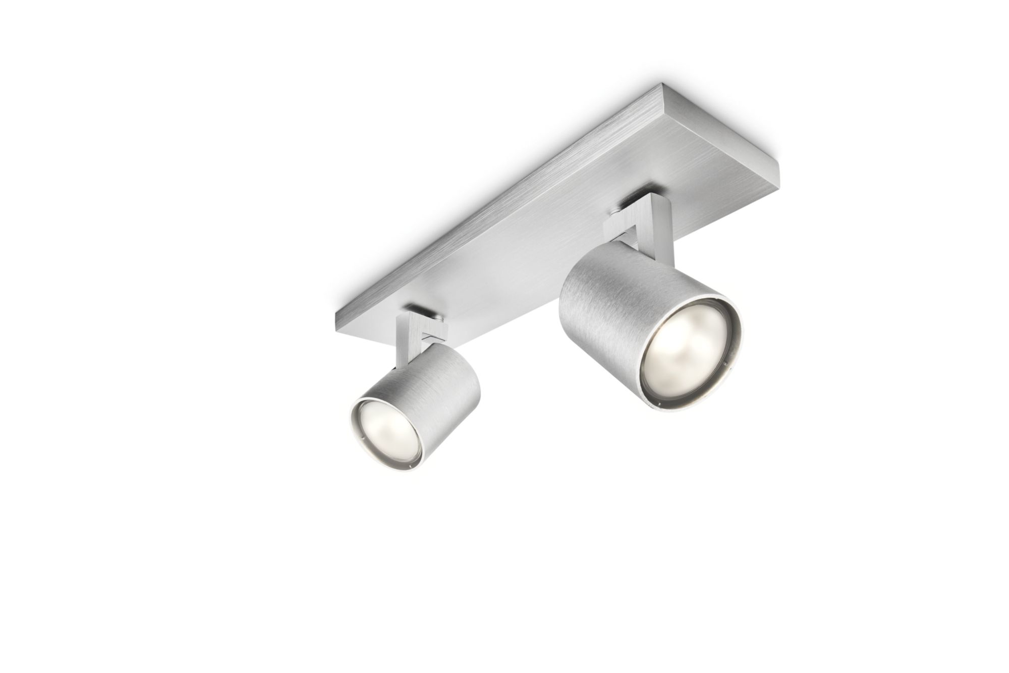 Philips Lighting - Runner 2xGU10 Alluminio - 530924812