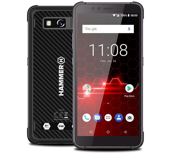 My Smartphone 128 gb ram 6 gb. quadband - phone - Hammer Blade 2 Pro Nero