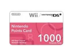Nintendo - 0045496352196 1000 nintendo point