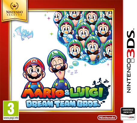 Nintendo Gioco adatto modello 3ds - 3ds Mario & Luigi Dream Team Bros. Select 2233949