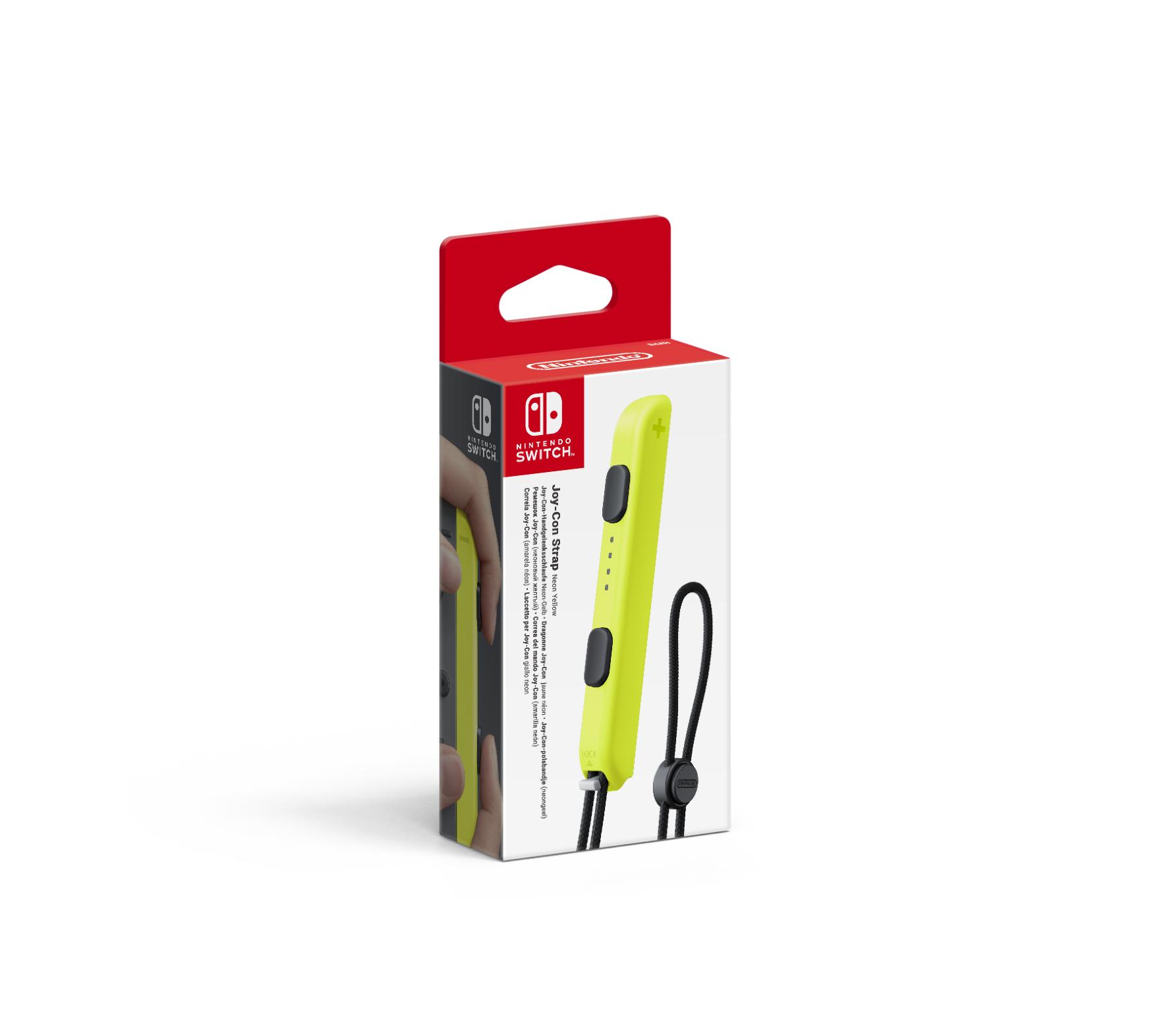 SWITCH HAC LACCETTO PER JOY Nintendo Switch: Laccetto per Joy-Con - CON GIALLO N