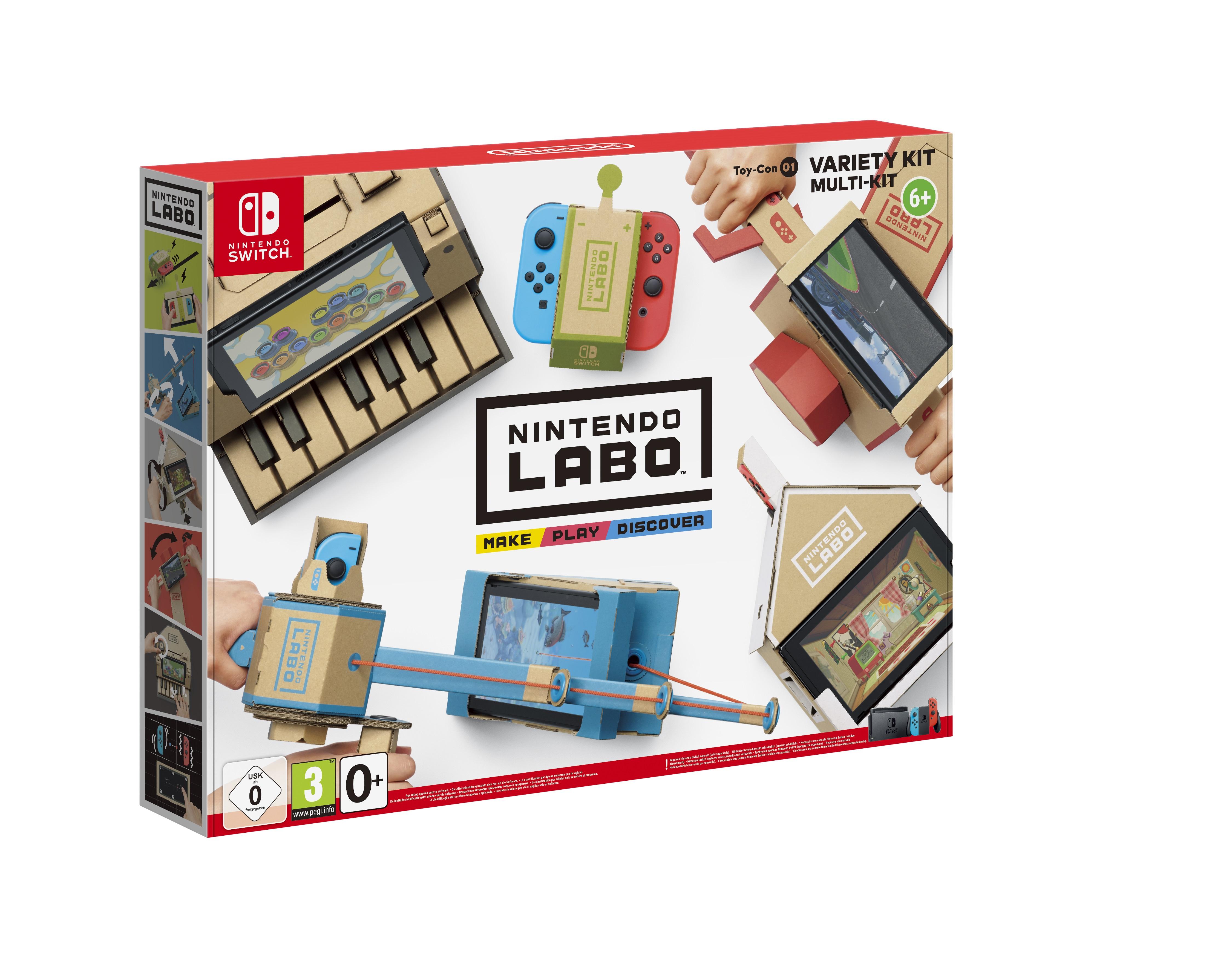 Nintendo Labo: Toy-Con 01 - Kit Assortito - 2522049