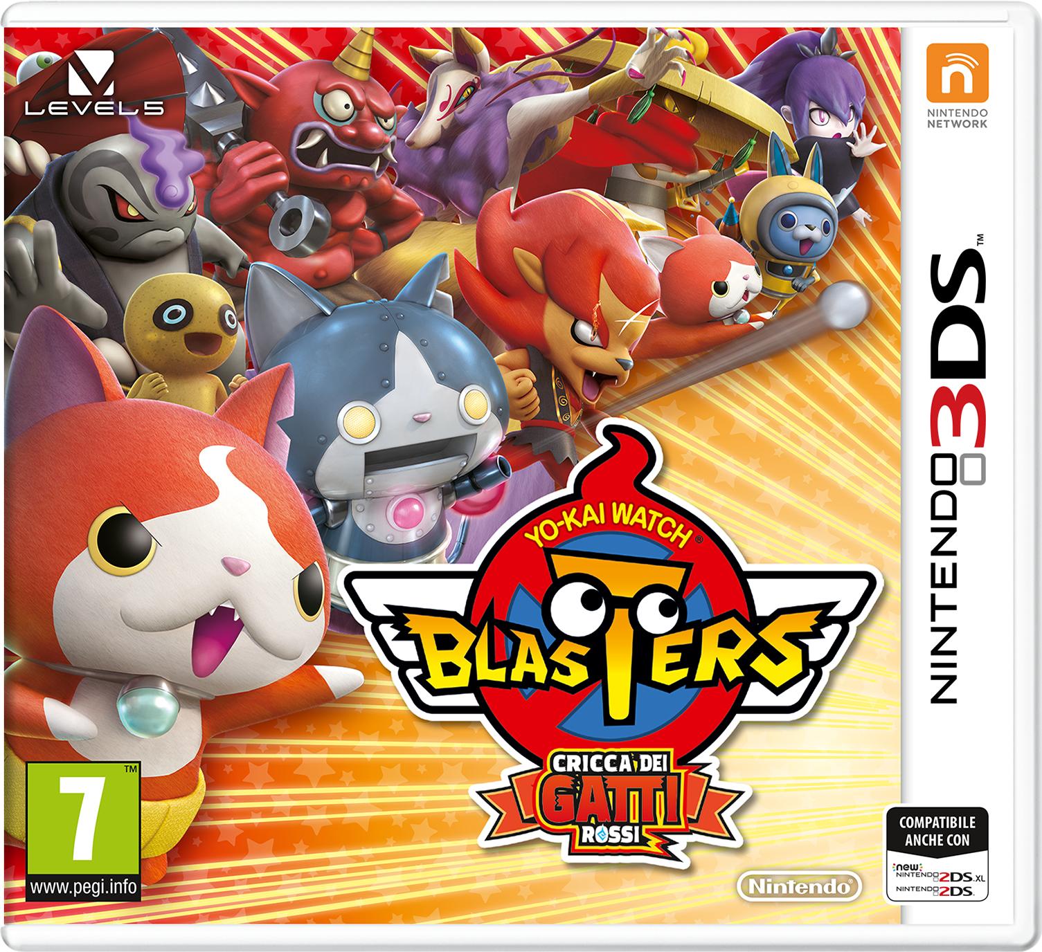 Nintendo YO-KAI WATCH BLASTERS- 2240149