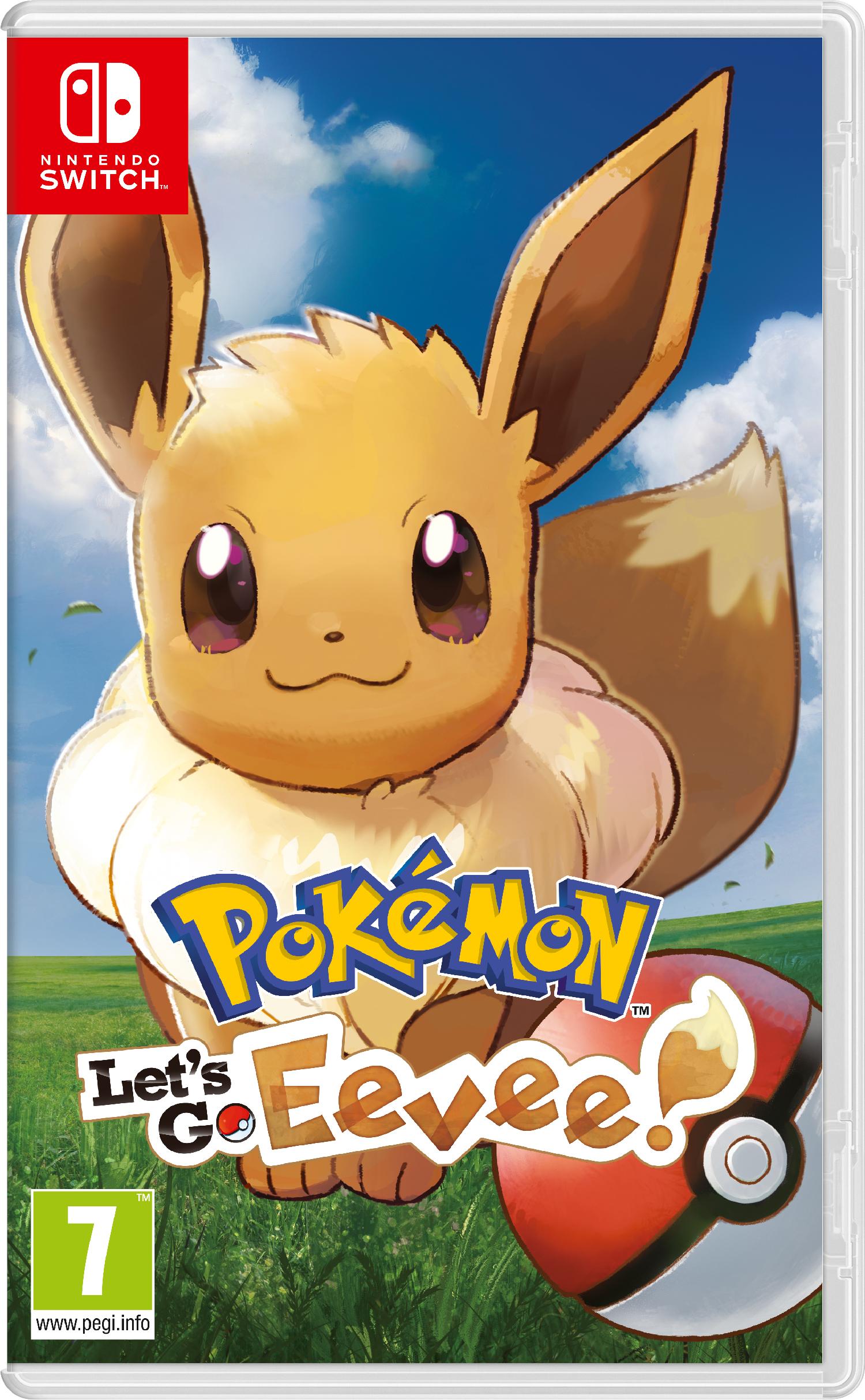 Nintendo Pokemon Let's Go EEVEE + Pokeball  - 2526049