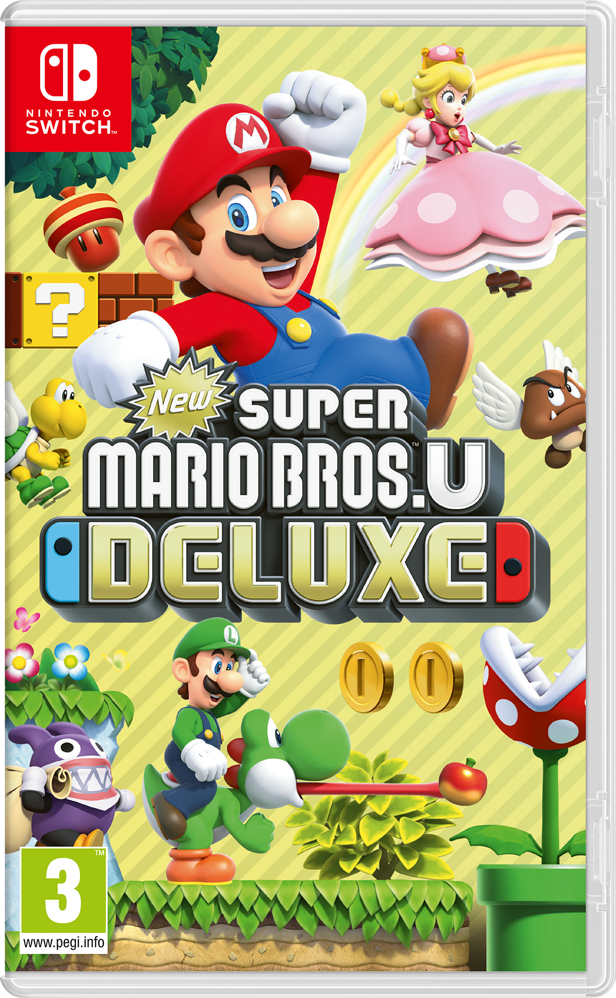 Nintendo New Super Mario Bros. U Deluxe Nintendo Switch New Super Mario Bros U Deluxe - 2525649