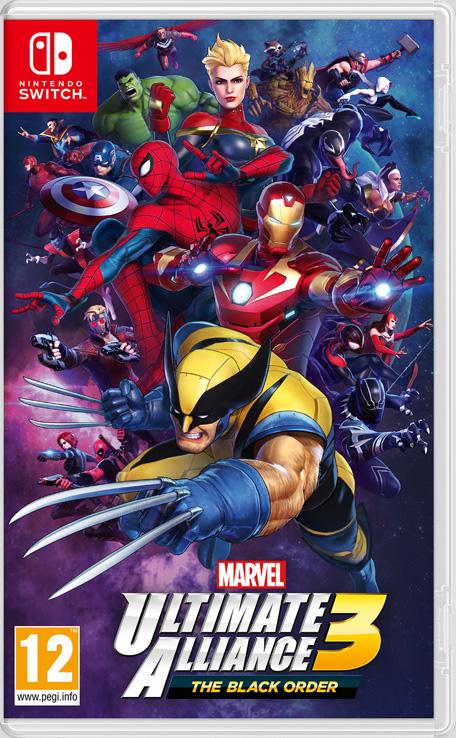 Nintendo Marvel Ultimate Alliance 3 Marvel Ultimate Alliance 3: The Black Order - 2525249