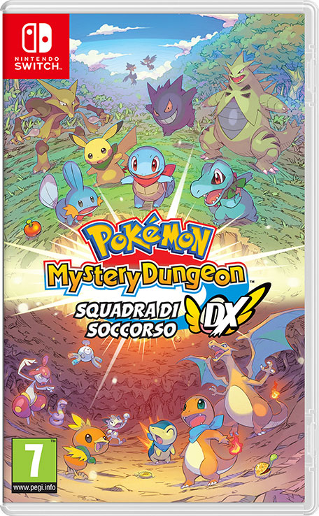 Nintendo Pokémon Mystery Dungeon: Squadra di Soccorso DX Pokémon Mystery Dungeon: Squadra di Soccorso DX - 10003982