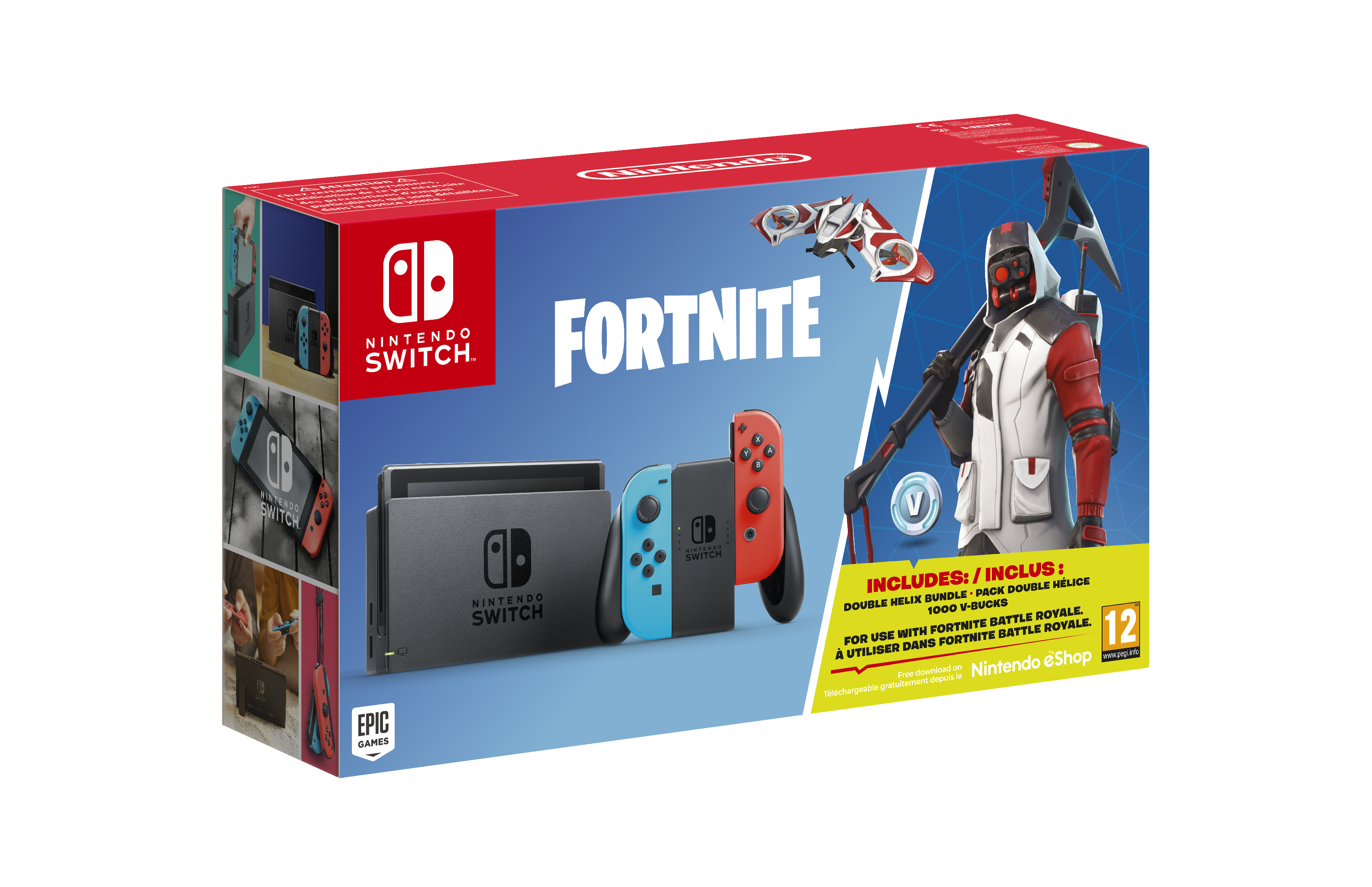 Nintendo - BUNDLE HAD SWITCH HW + FORTNITE ED.SPEC
