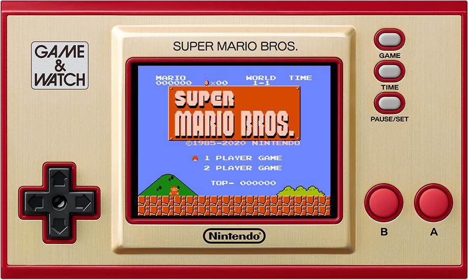 Nintendo - 10004612 HXA GAME WATCH SM BROS SYSTEM