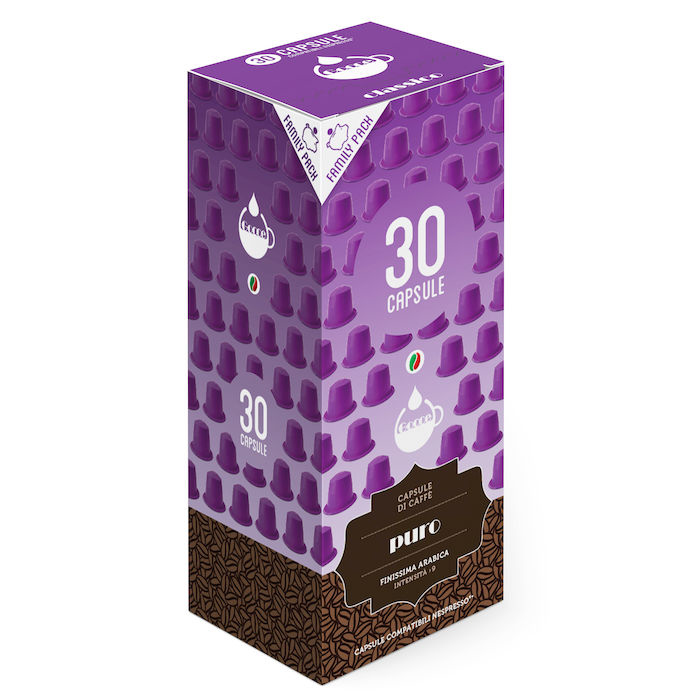 BOX 30 CAP.COMP.NESP.PURO Nespresso
