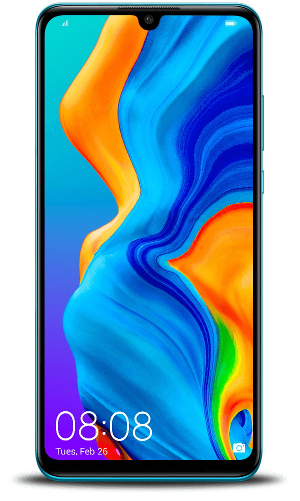 Huawei Smartphone 128 gb ram 4 gb. vodafone quadband - P30 Lite Blu Vodafone