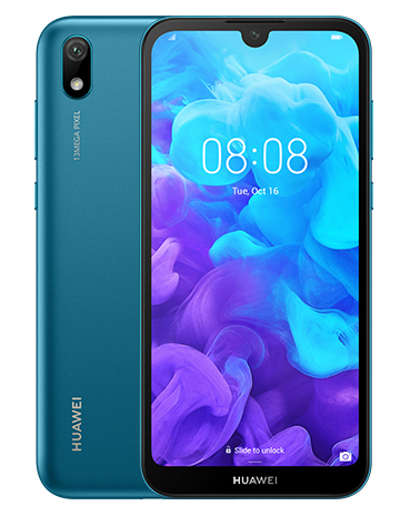 "Vodafone Display: 5.71"" HD+ (1560x720) IPS, - Smart Huawei Y5 2019 4g Blue"