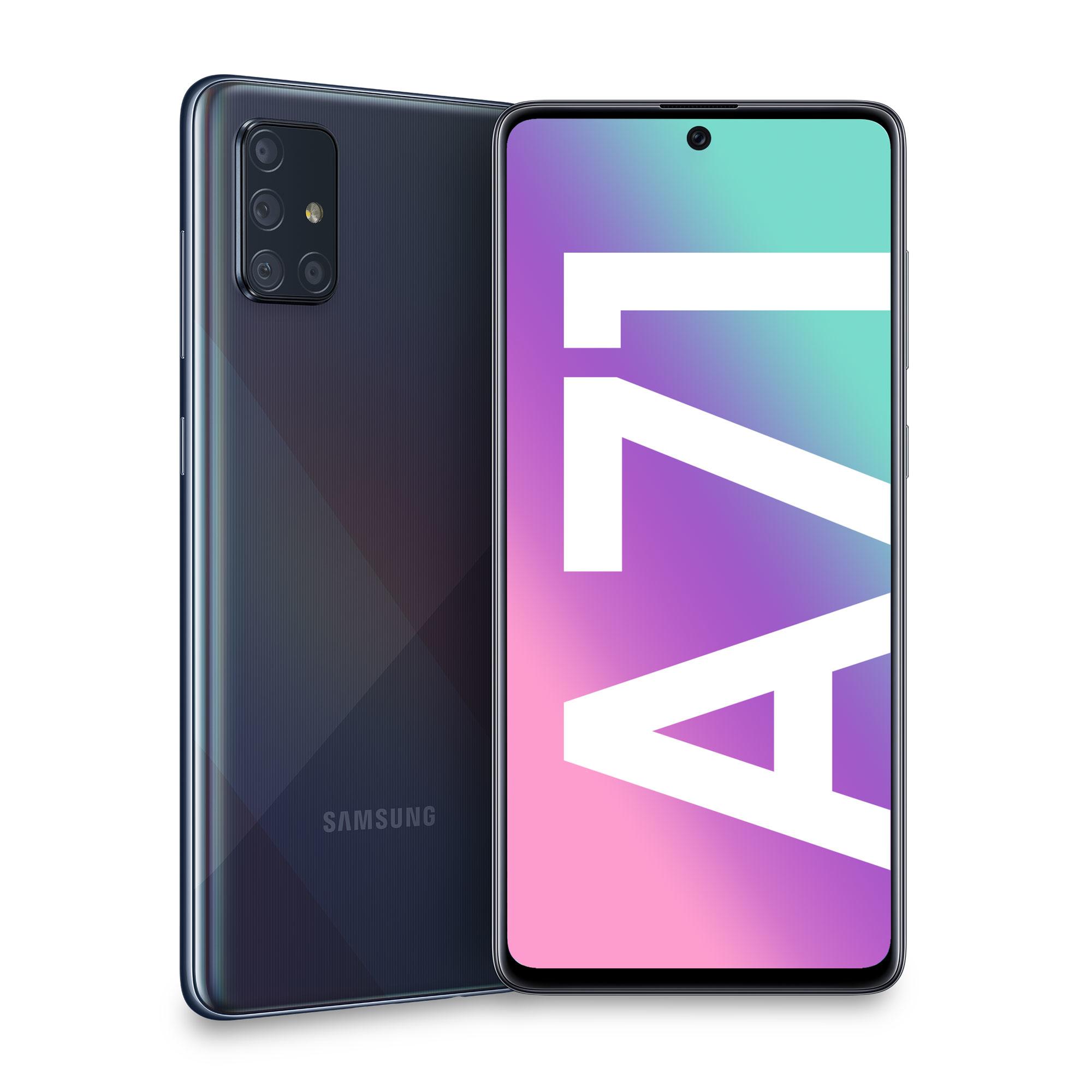 Vodafone - Samsung Galaxy A71 Black