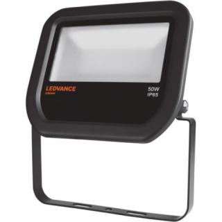 LEDVANCE Potenza: 50 W - Flood50830b -  FLOODLIGHT LED 50W/3000K BLACK IP65