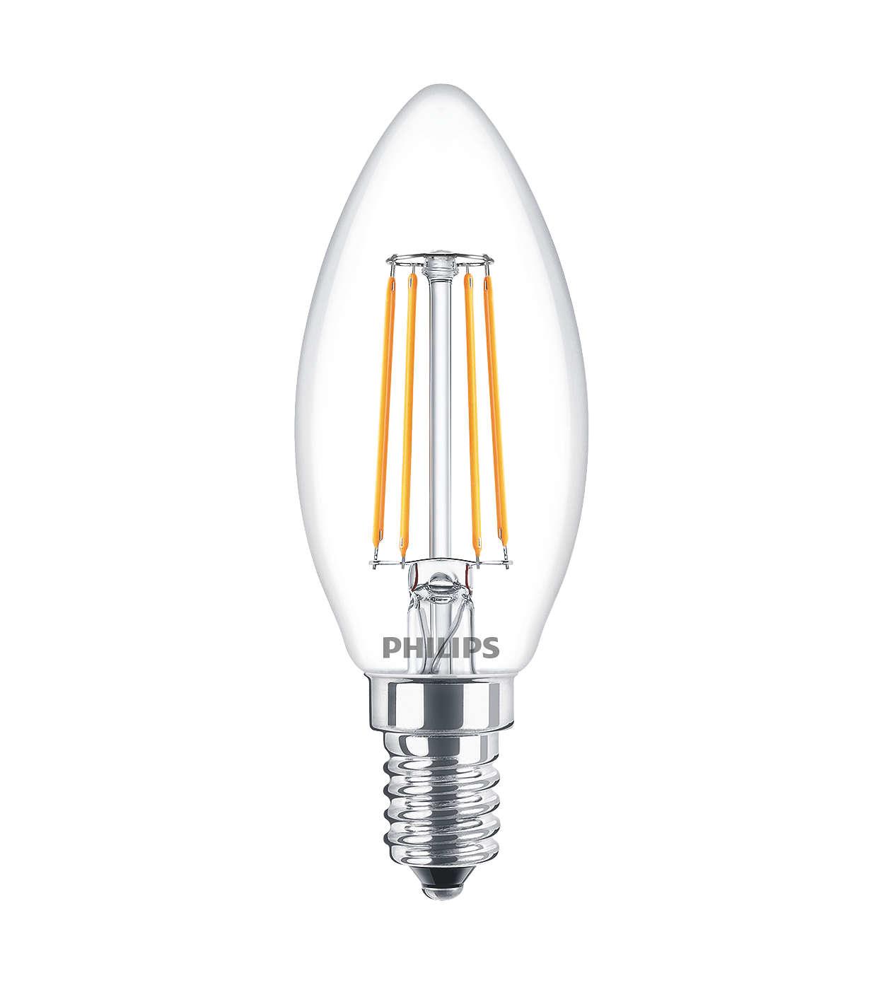 Philips Lampadina a LED - Lampadina a LED - Philedcan40e14