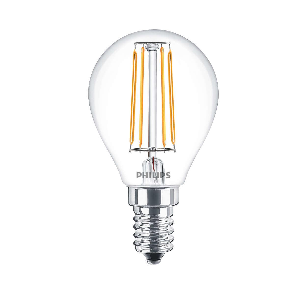 Philips - Lampadina a LED - Philedlus40e14