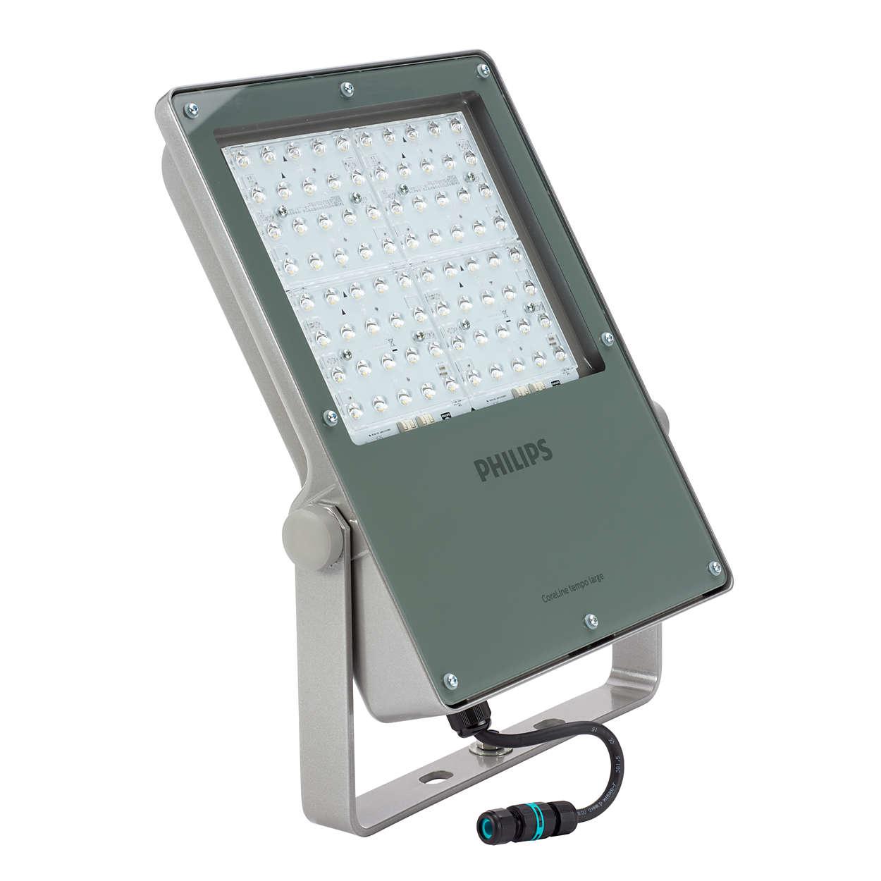 Philips Proiettore LED - BVP130 Tempo Large Asimmetrico - 09641000