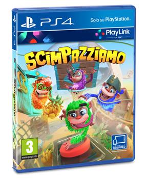 PS4 Scimpazziamo Playlink Scimpazziamo