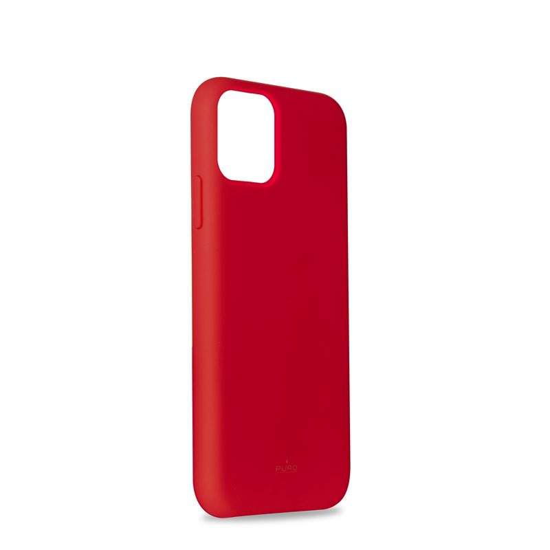 PURO Cover iPhone 11 Custodia per smartphone Apple colore Rosso