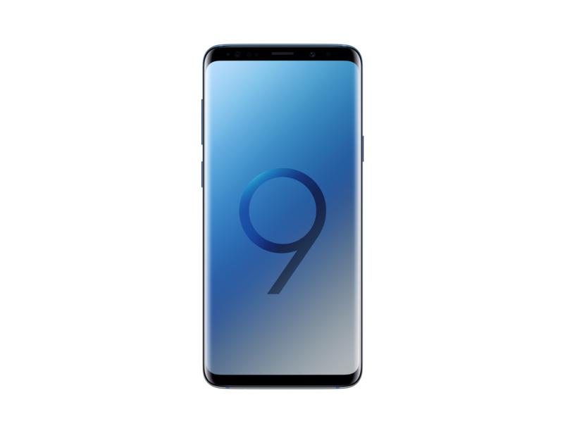 Samsung Quadriband - 3G - 4G-LTE - Wi-Fi - Galaxy S9+ Sm-g965 Polaris Blue