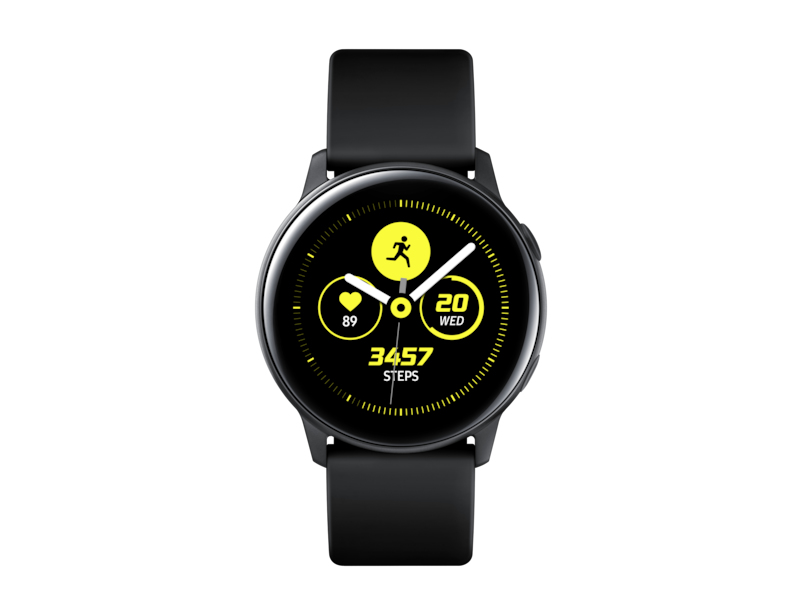Samsung  - Galaxy Watch Active Black