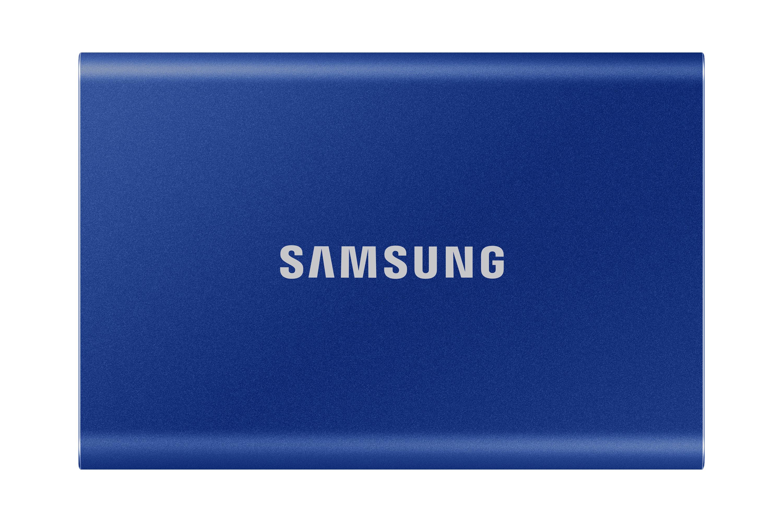 Samsung T7 da 500 GB SSD Portatile Blu USB 3.2 (MU-PC500H/WW)