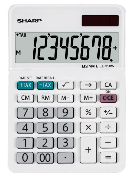 Sharp Desktop - El310wb  Calcolatrice finanziaria