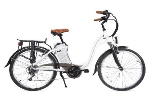 Smartway - C1-l04s6-w bicicletta pedalata assistita