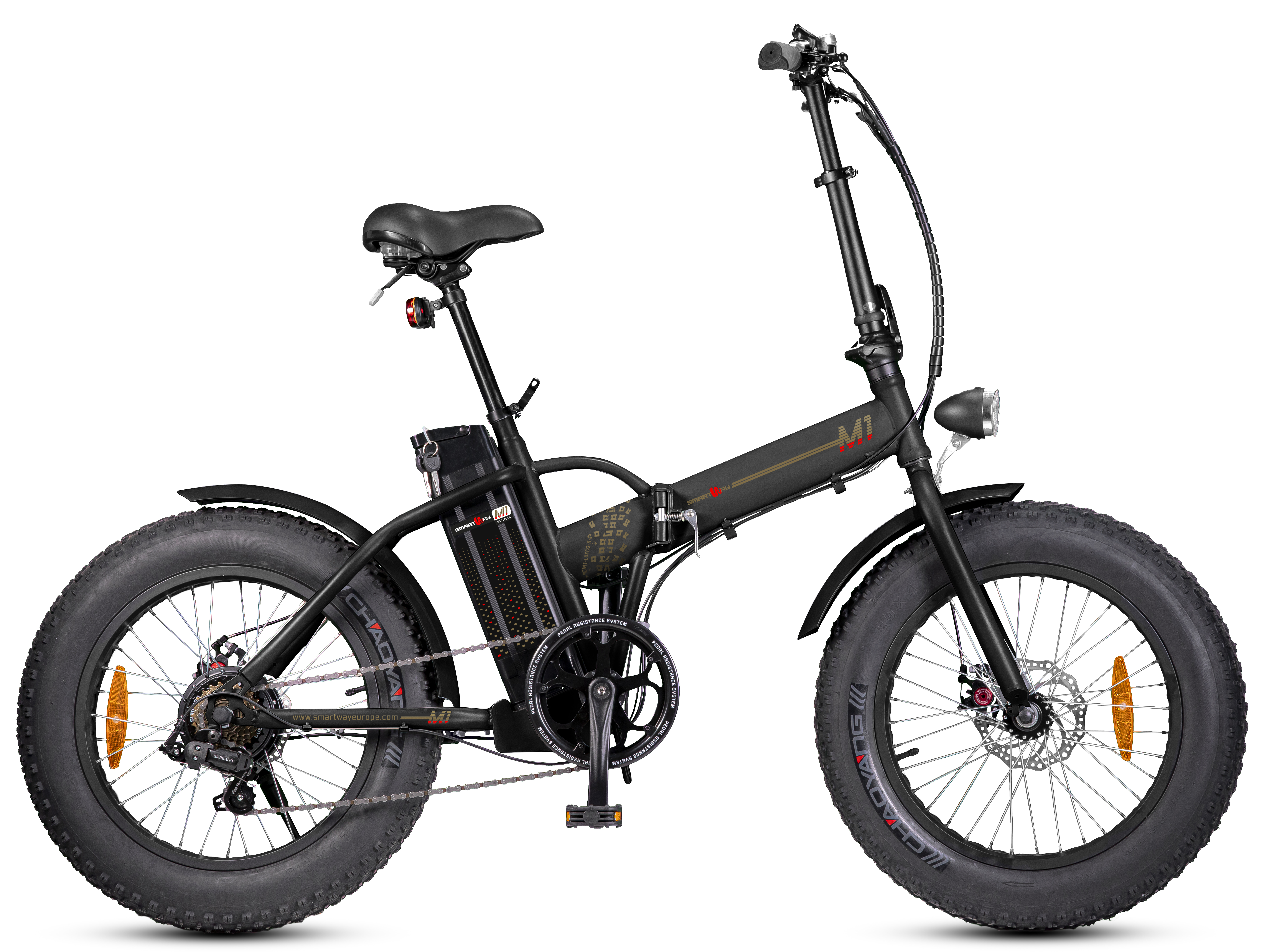 Smartway - M1-l0fd2-k fat bike pedalata assistita