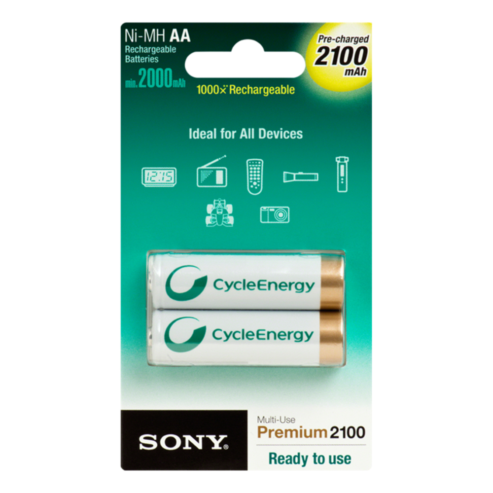 Sony  - Nhaab2k batterie stilo ricaricabili