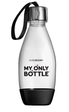 BOTT.1/2 LITRO NERA LAVASTOVIGLIE SodaStream My Only. Volume: 500 ml