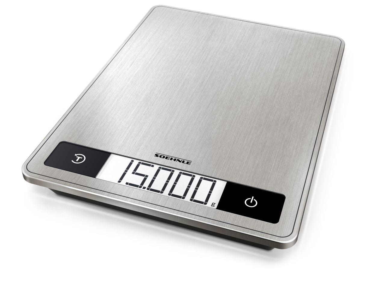 Soehnle Italia S.r.l. Tipo di display  LCD - Profi200 Bilancia da cucina digitale digitale