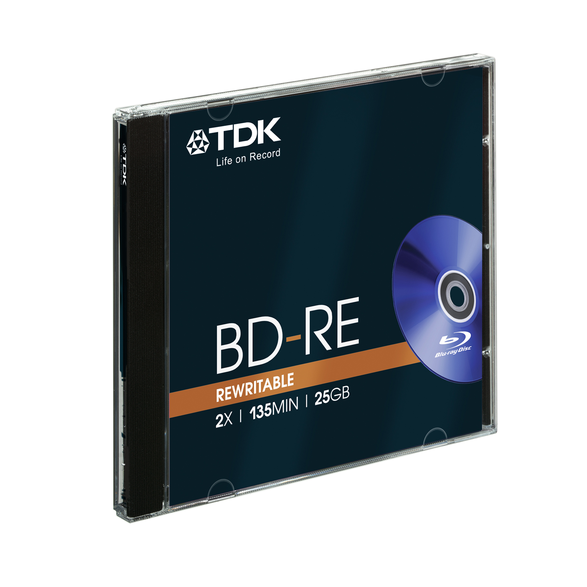 Tdk Italia S.p.a. Blu-Ray 25 GB - Bd-re25jc2xe