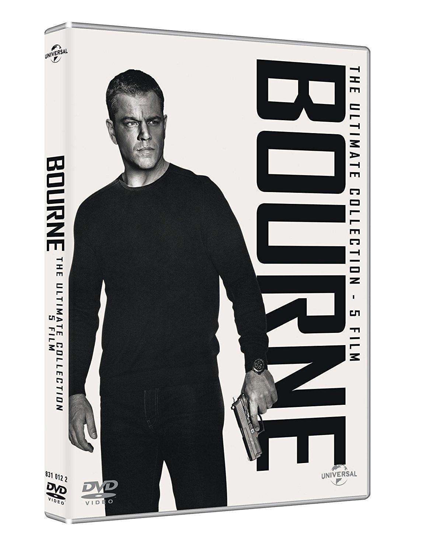 DVD JASON BOURNE 5 MOVIE COLLECTION