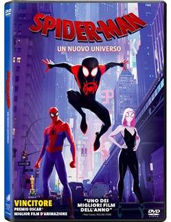 DVD SPIDER-MAN: UN NUOVO UNIVERSO