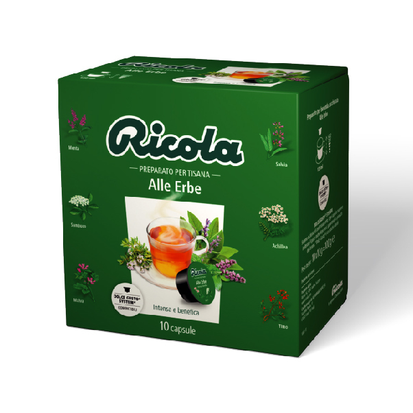 Must Caffe' Ricola Alle Erbe - Pccdg-rico10-erbe