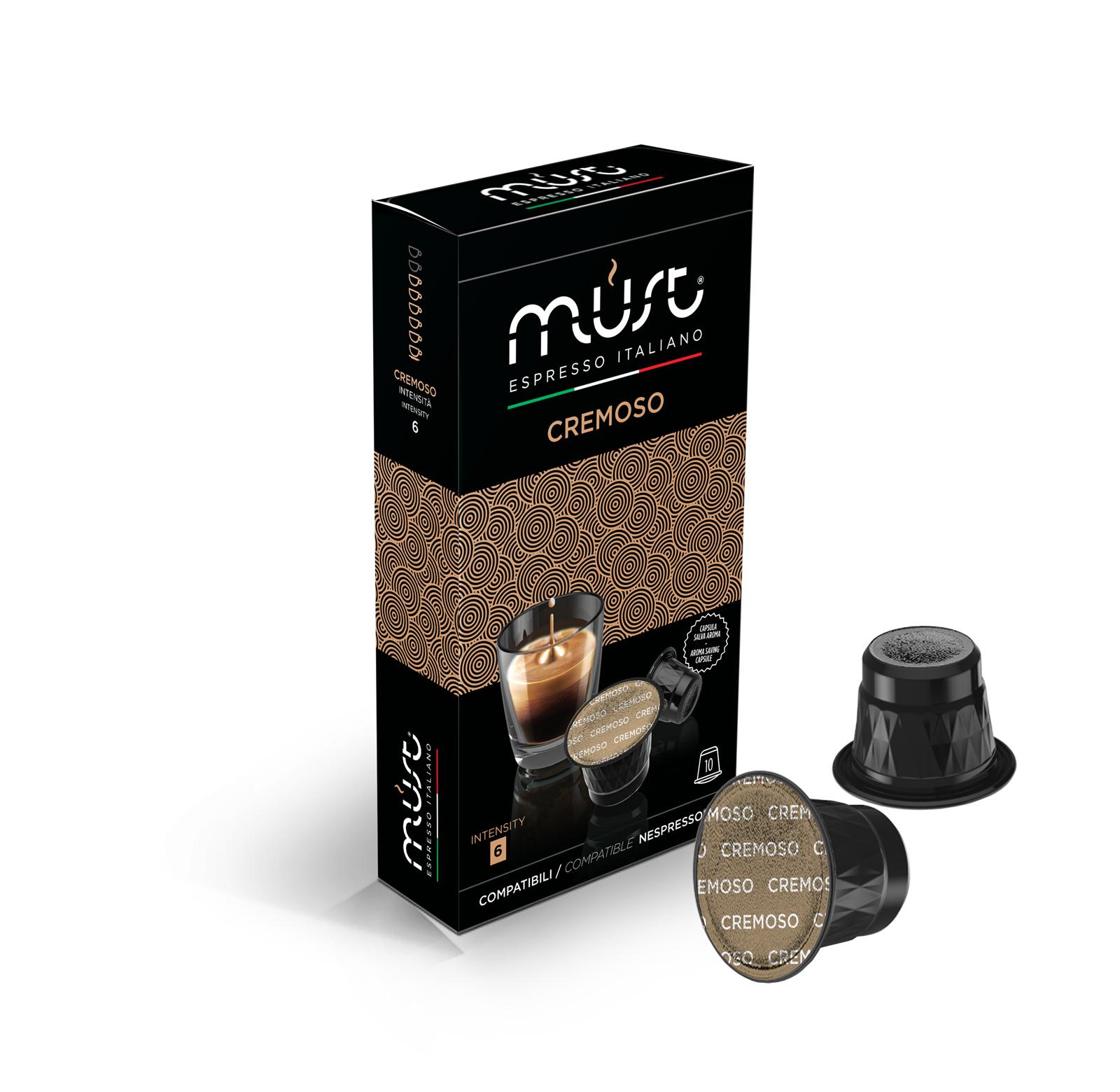 Must Caffe' Must Cremoso - Pfccn10-crem
