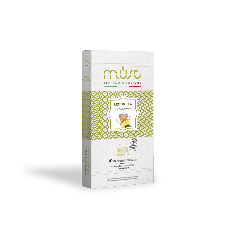 Must Caffe' Must Lemon Tea - Pftcn10-bioteli