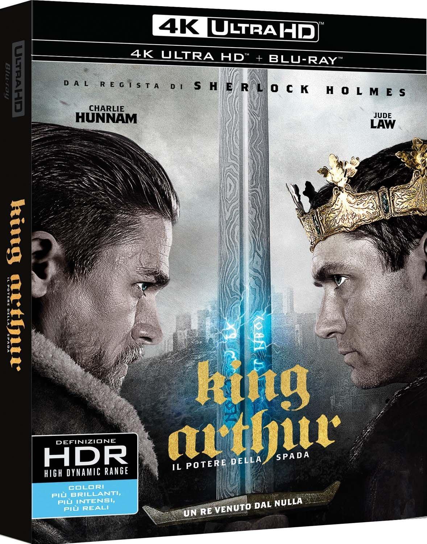 BRD+4K ULTA HD-KING ARTHUR:IL POTERE DEL