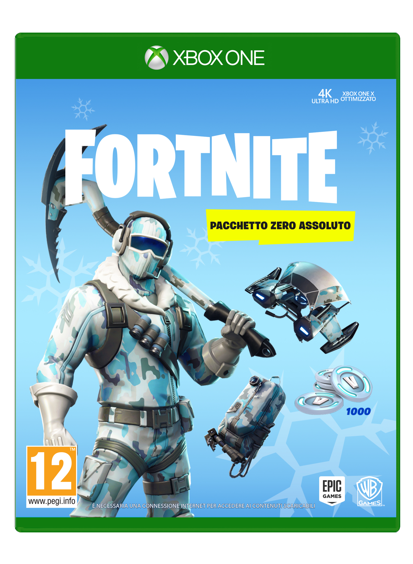 Warner Bros Game - Xbox One Fortnite: Pacchetto Zero Assoluto