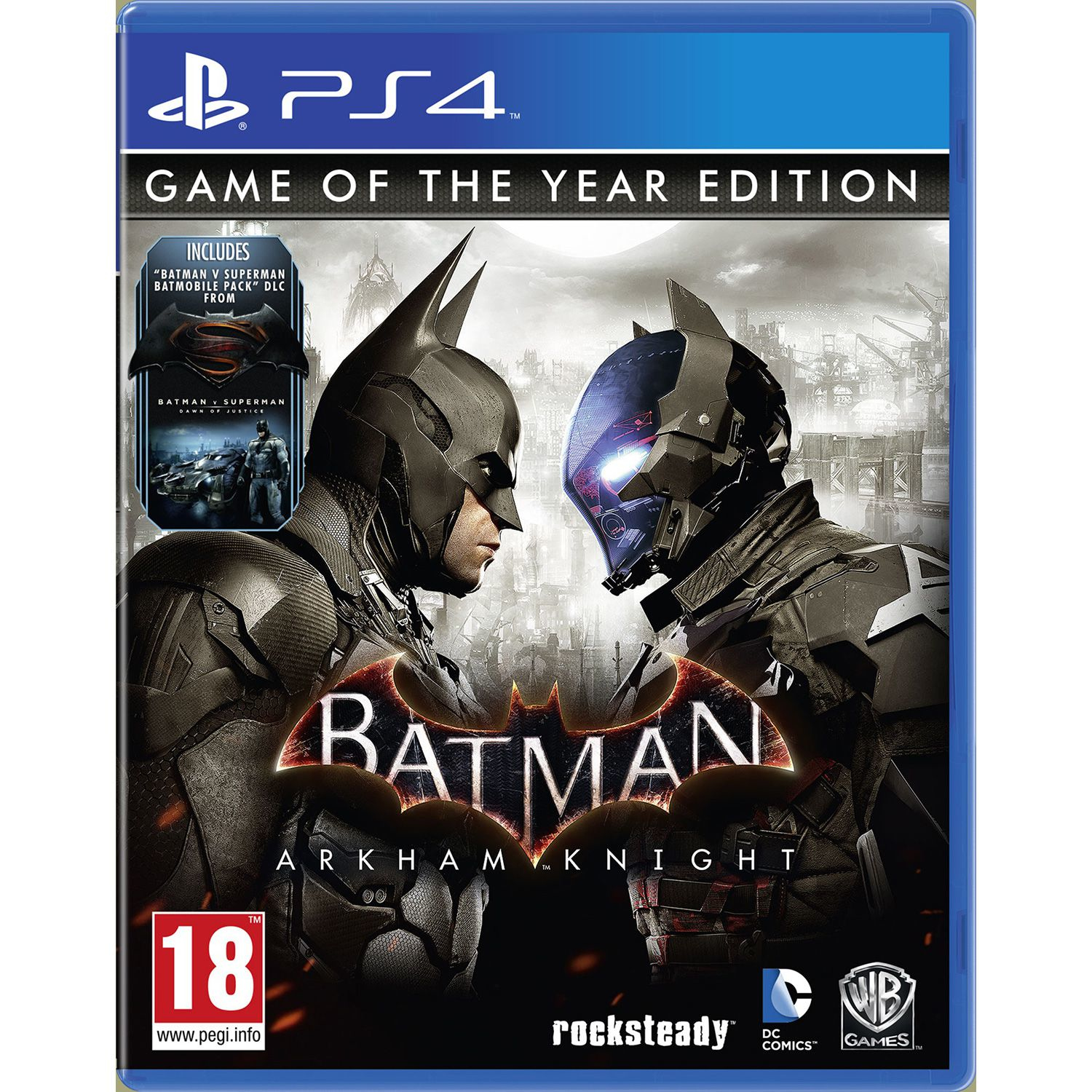 Warner Bros Game  - 1000603839 Batman: Arkham Knight GOTY PS4