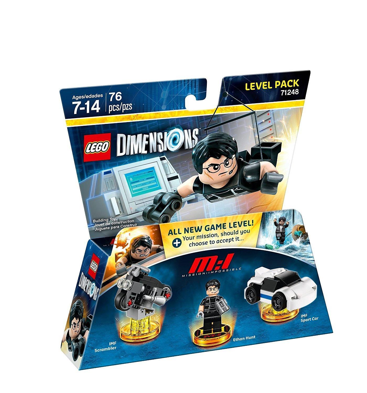 Warner Bros Game Warner Bros LEGO Dimensions: Mission Impossible Level Pack - 1000590126