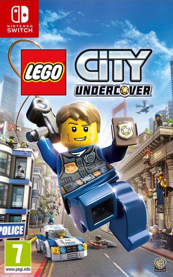 Warner Bros Game Lego City Undercover Nintendo LEGO City Undercover - 1000639747