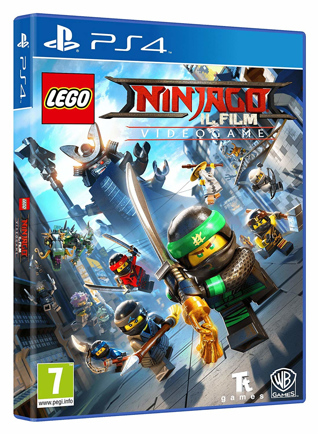 Warner Bros Game Lego Ninjago The Movie Lego Ninjago Il Film - 1000691201
